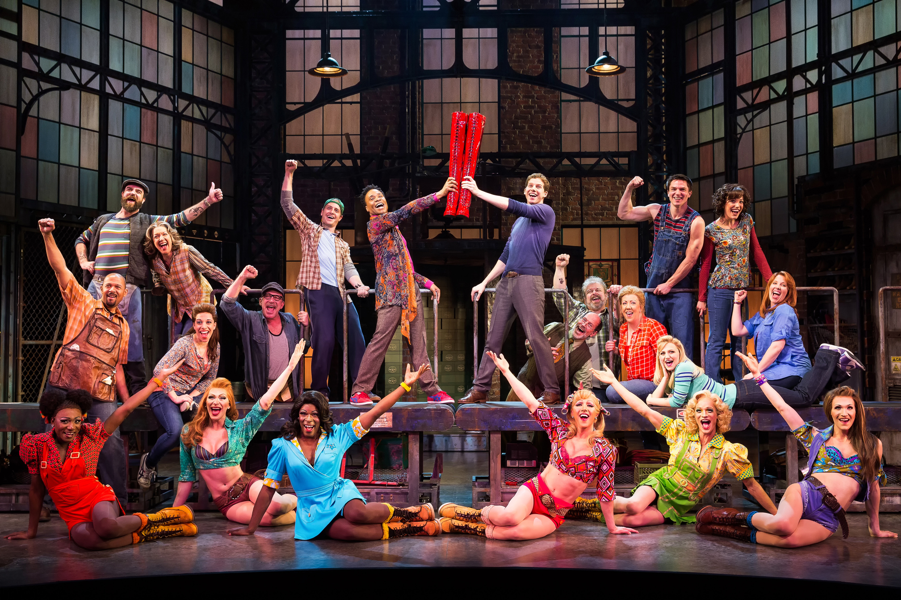 In the Spotlight:  Kinky Boots on Broadway