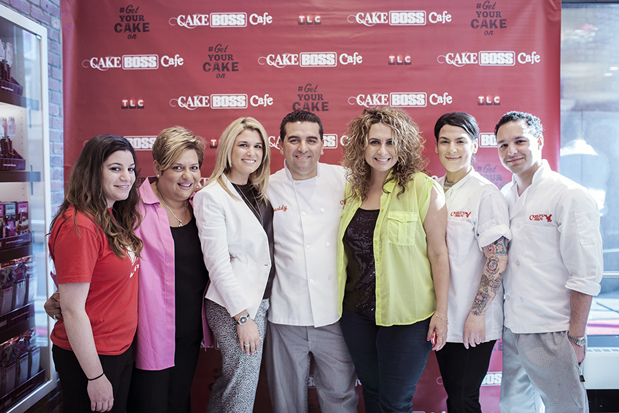 Catching up with the Cake Boss