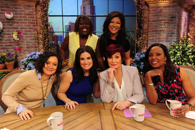Idina Menzel on the Talk Courtesy CBS