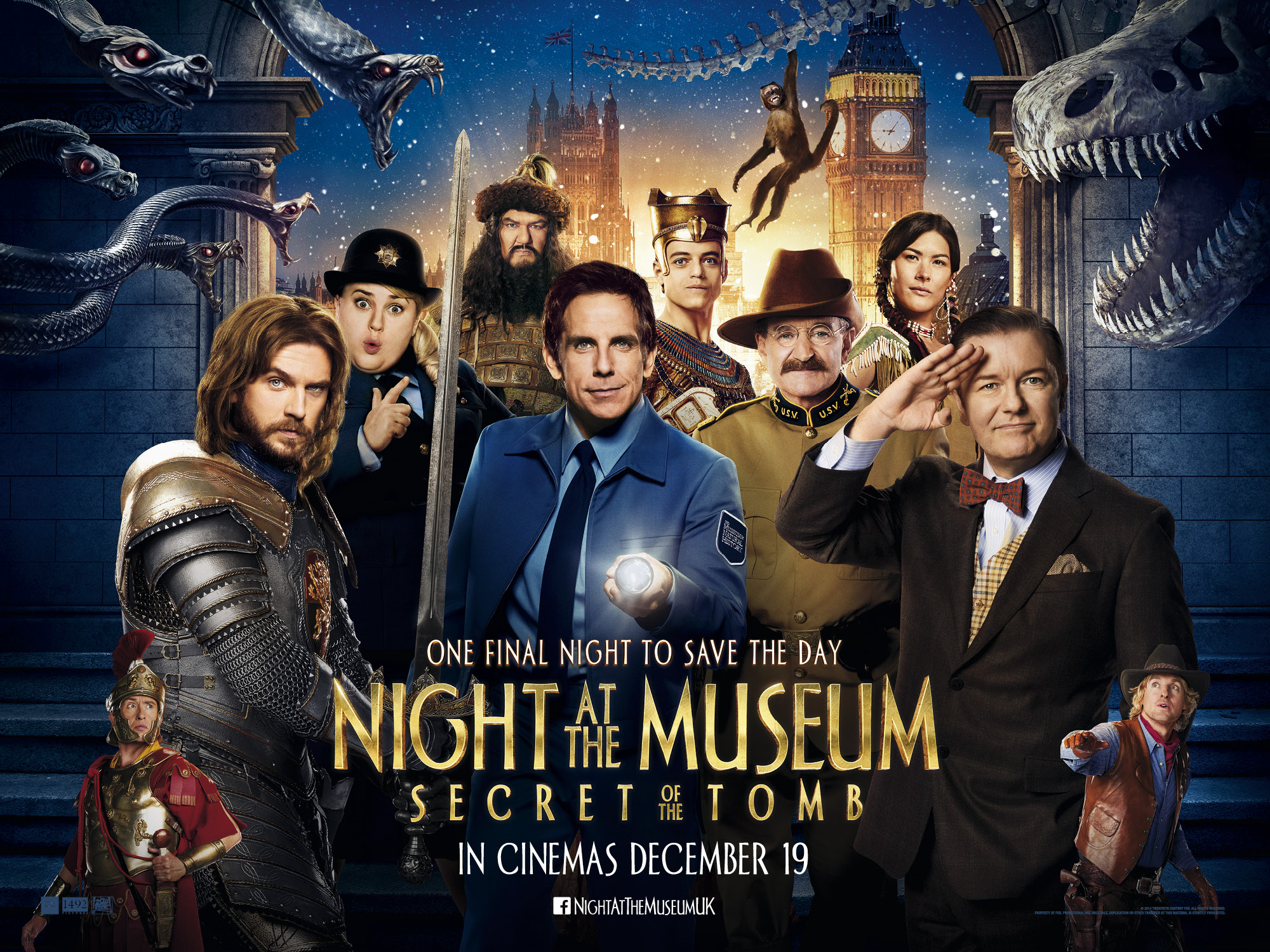 Exclusive Interview with the Cast of Night at the Museum